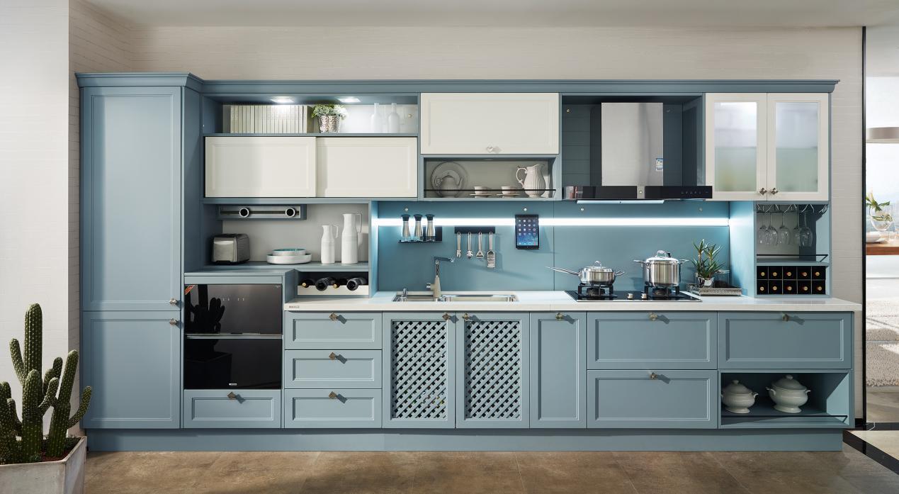 喜欢赵丽颖厨房设计 欧派橱柜双11帮你实现梦想