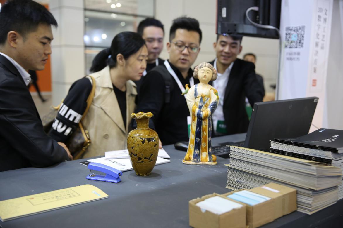 """积木易搭亮相2018""""博博会"""",刷屏级人流,3D博物馆大受好评"""