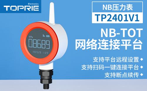 拓普瑞无线智能压力表,全面监测消防水系统