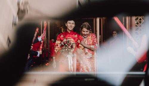 帥氣網紅小哥哥羅佳甜蜜愛情修成正果,與愛人史千可步入婚姻殿堂!
