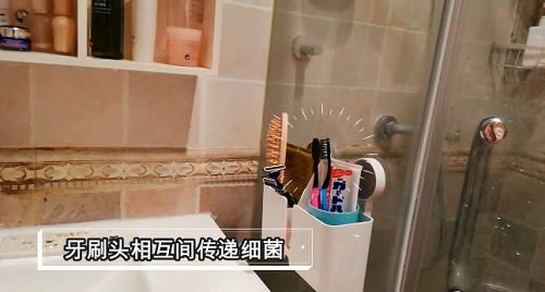 告别过去放牙刷方式?464硅胶插入式牙刷架登场-