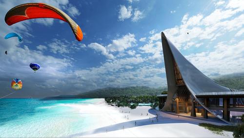 高龍島皇家銀灘游樂度假區,泰國灣上的人間天堂!