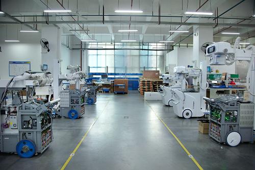 安健科技:移动DR年度生产能力达1200台