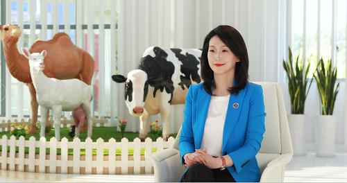 澳优乳业执行董事吴少虹:企业发展与责任并行,公益输血与造血共举