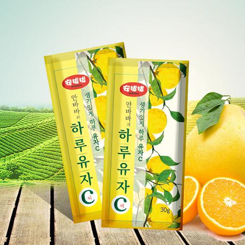 安拔拔推荐的柚子茶,好暖~