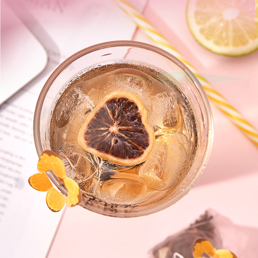 法然堂每日心晴柠红茶,今夏小仙女的浪漫与快乐